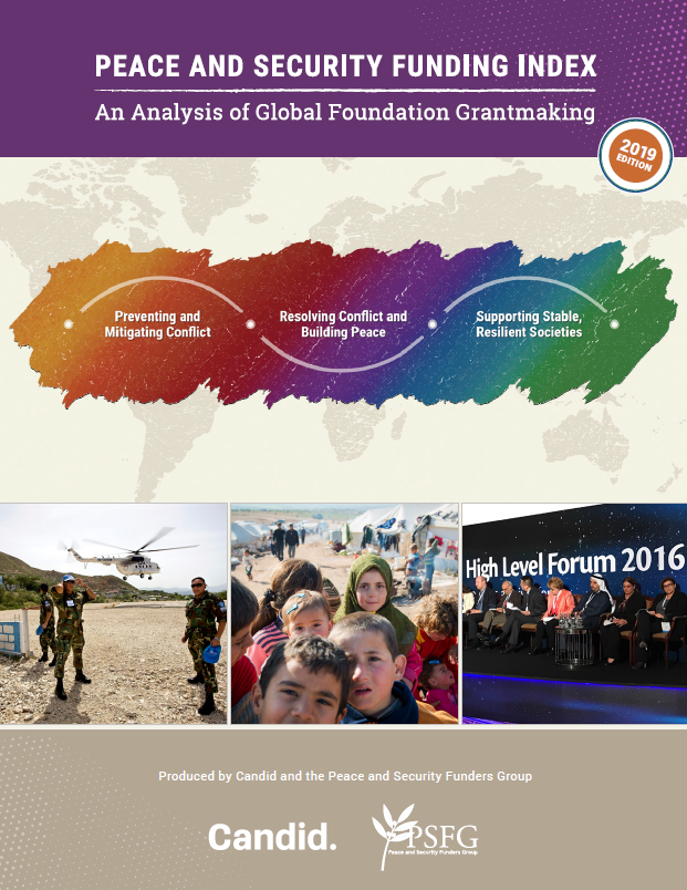 2019 Peace & Security Funding Index: An Analysis of Global Foundation Grantmaking Report