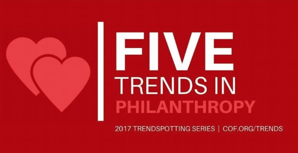 current philanthropy trends Philanthropy new york interviews grantmaking trends and weingart foundation looked closely at our recent grantmaking history and the current landscape.