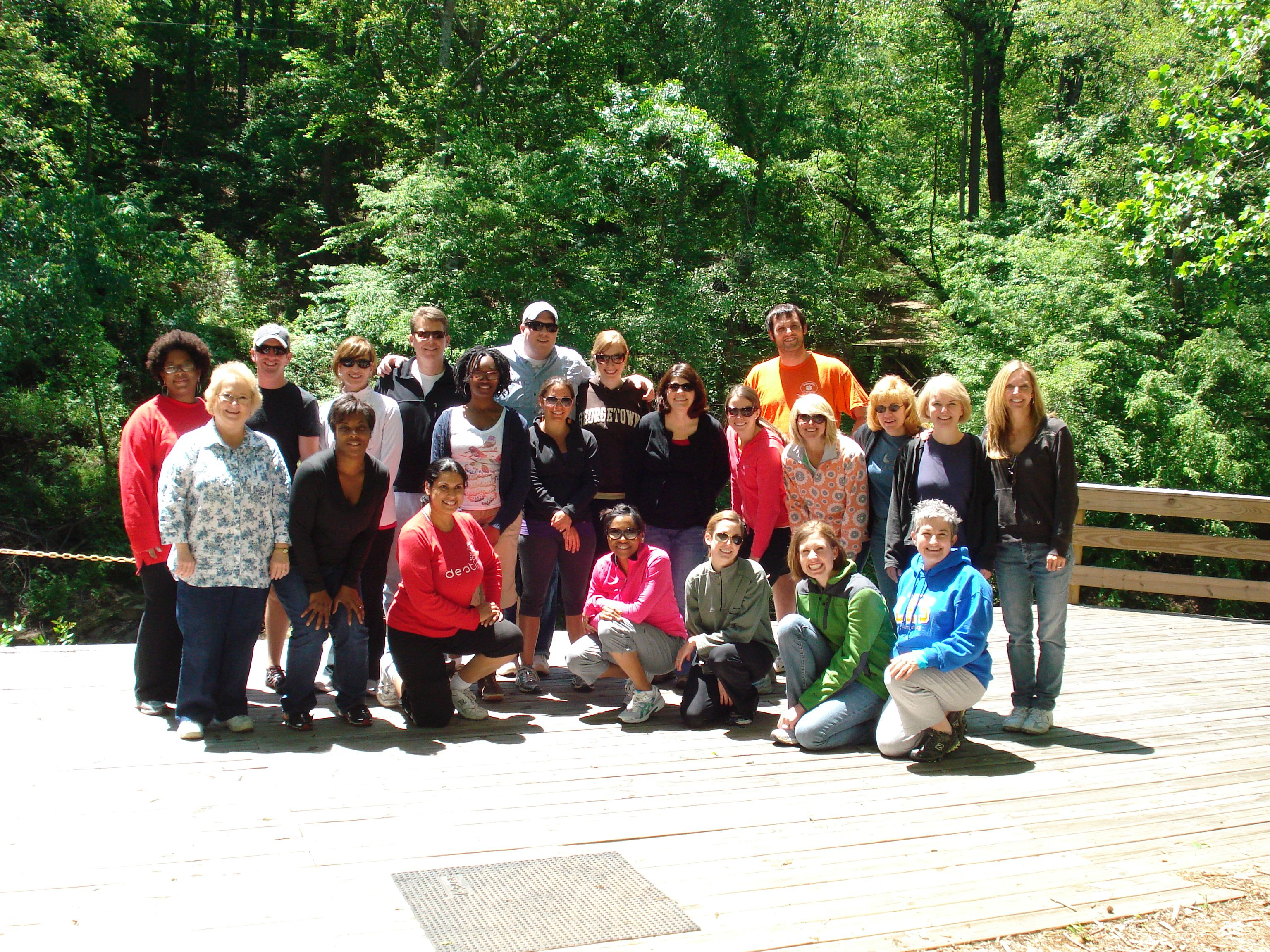The 2010 Hull Fellows at their mid-program retreat.