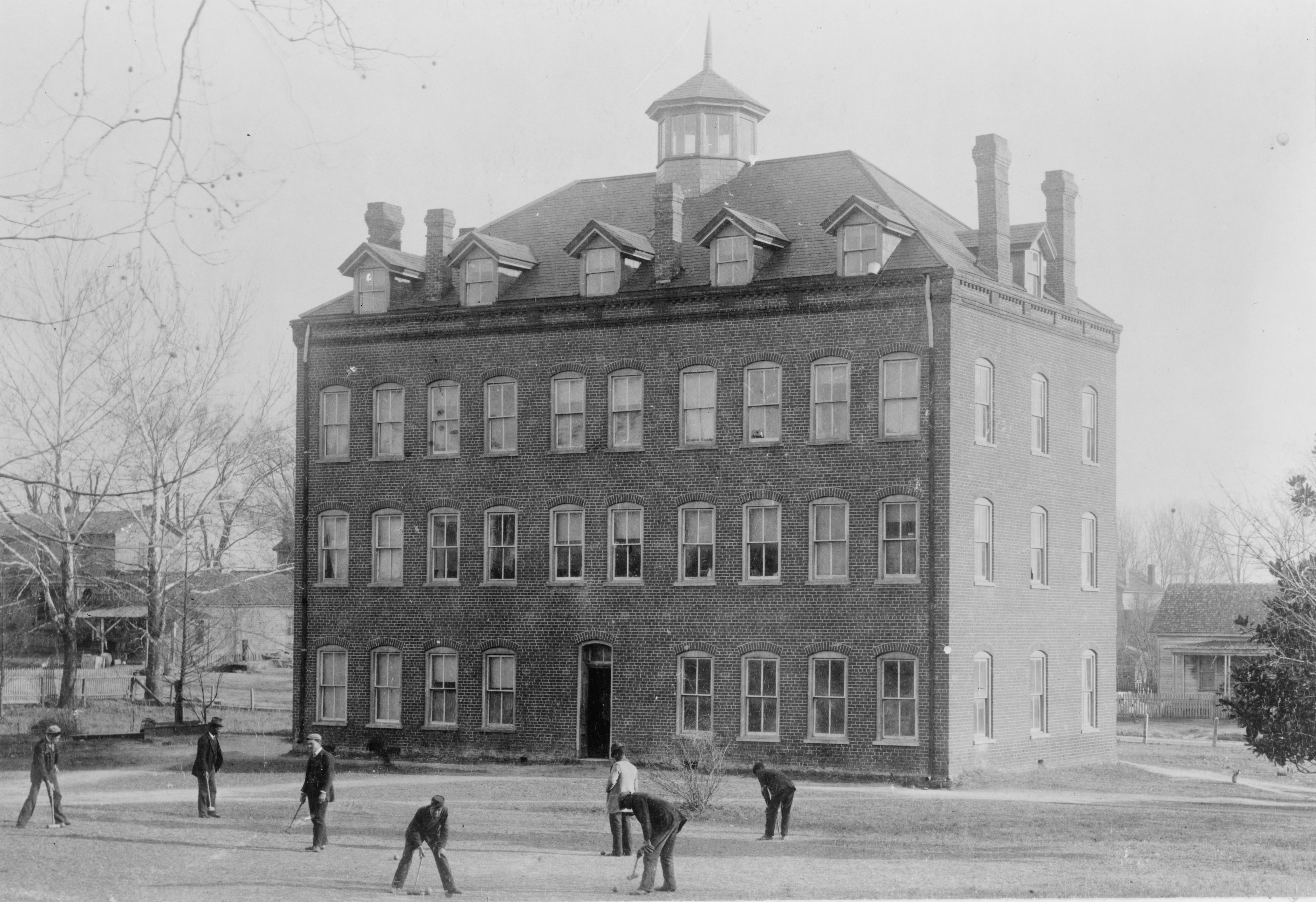 Medical dormitory at Shaw University, the first HBCU in the Southern United States