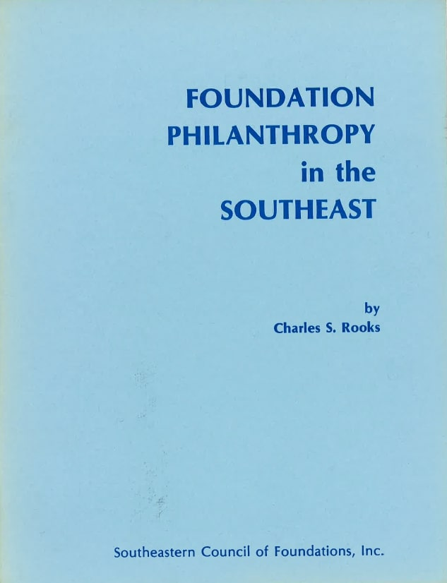 Cover image of Foundation Philanthropy in the Southeast