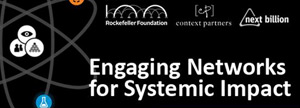Engaging Networks for Systemic Impact Webinar