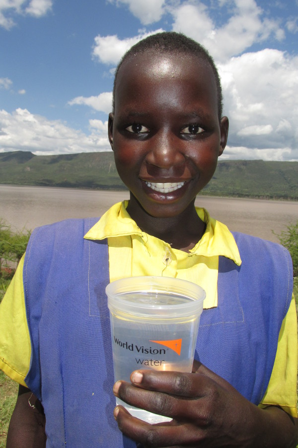 Through its WASH programming, World Vision reaches one new person with clean water every 30 seconds. Credit: World Vision