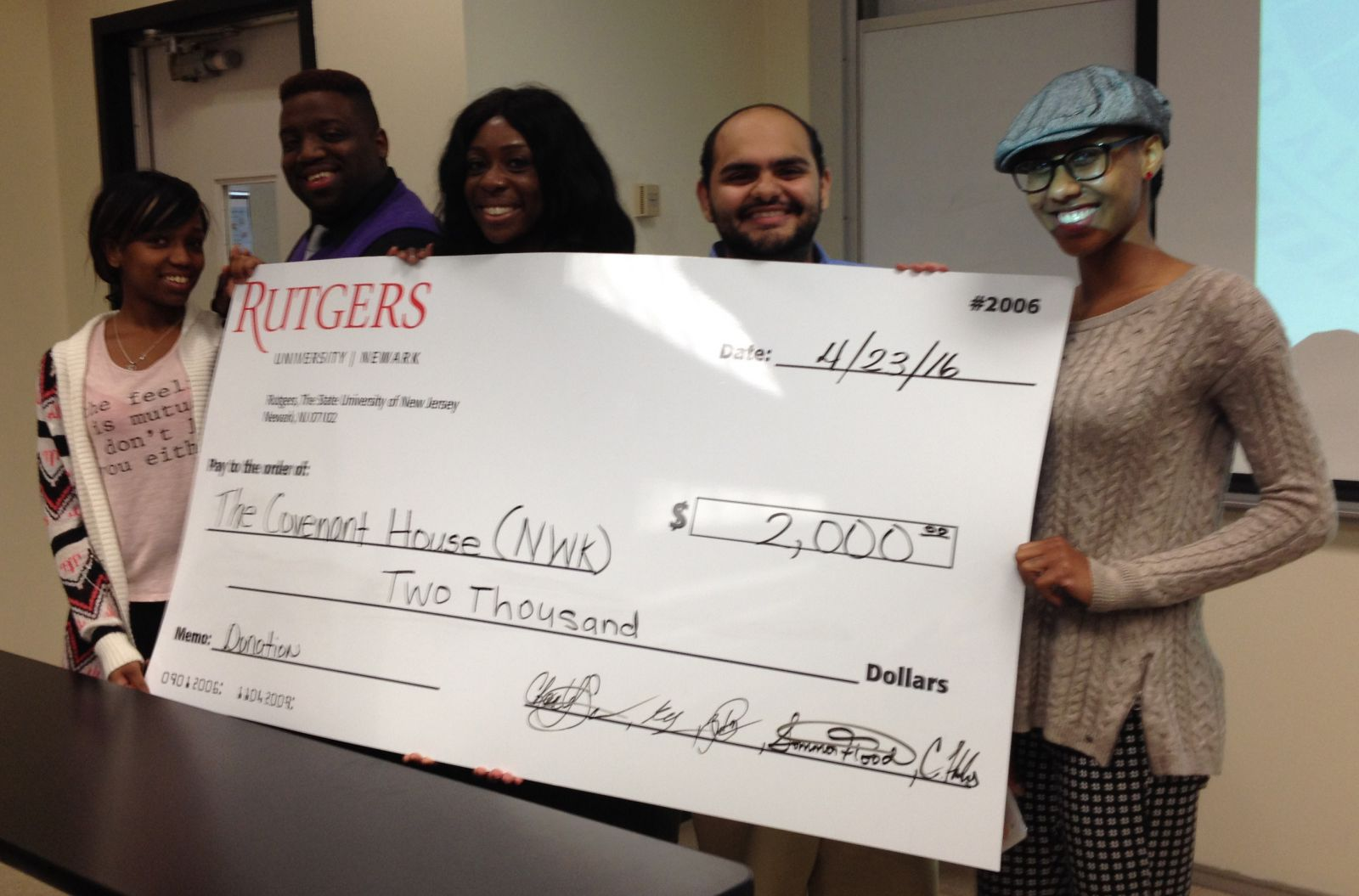 Rutgers University-Newark School of Public Affairs and Administration: Experiential Philanthropy Initiative